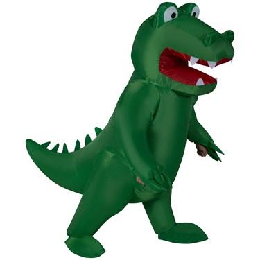 Inflatable Alligator Adult Costume