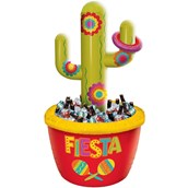 Inflatable Cactus Cooler & Ring Toss Game