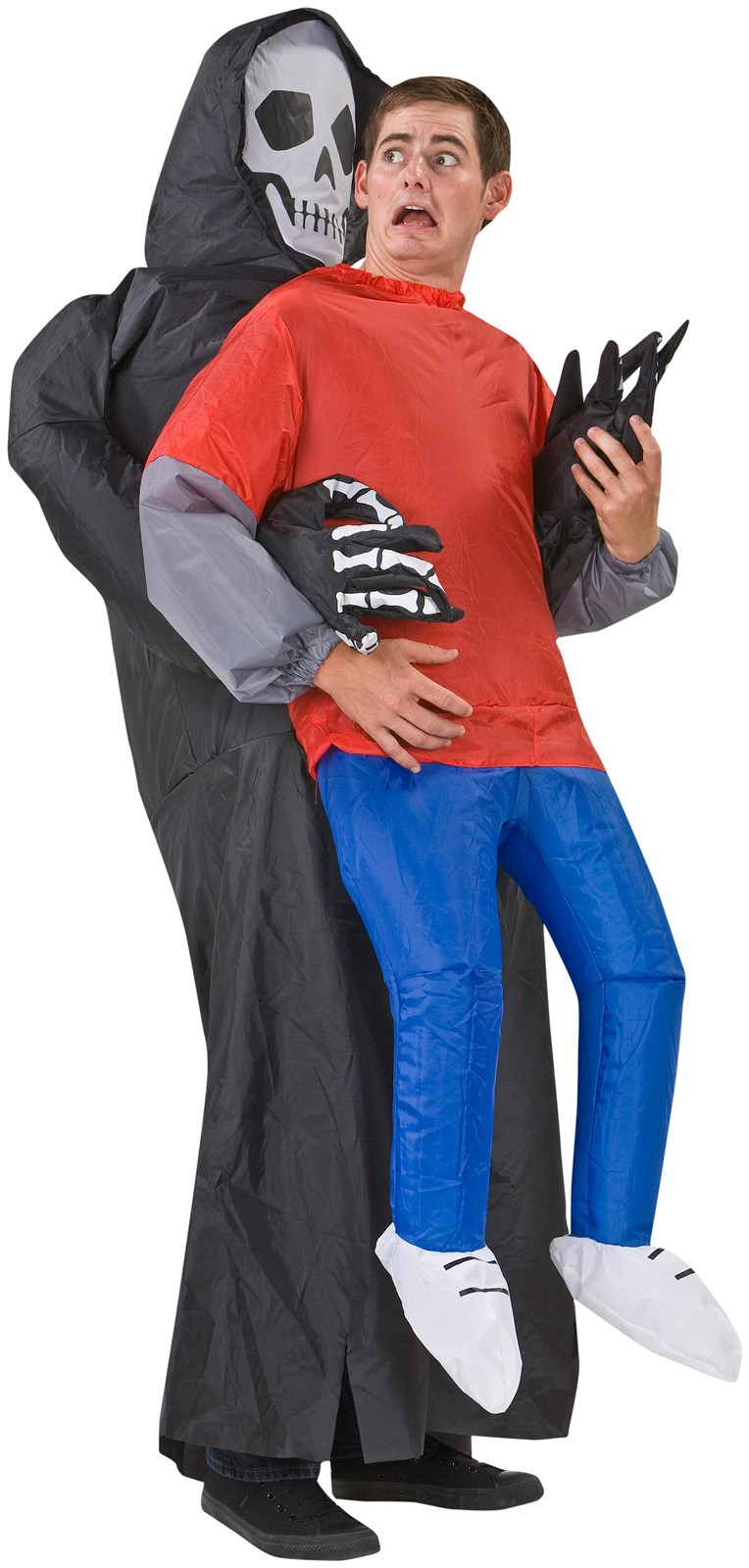 Outdoor inflatable halloween decorations - Inflatable Grim Reaper Victim Adult Costume Buycostumes Com