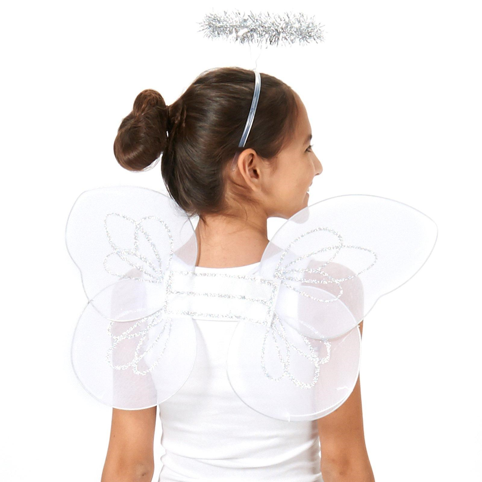 Instant Messaging Angel : Instant angel accessory kit child buycostumes