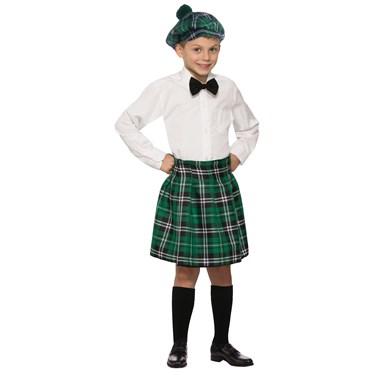 Irish Kilt Child