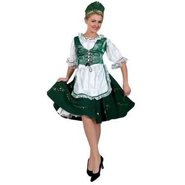 Irish Lass Premium Deluxe Adult Costume
