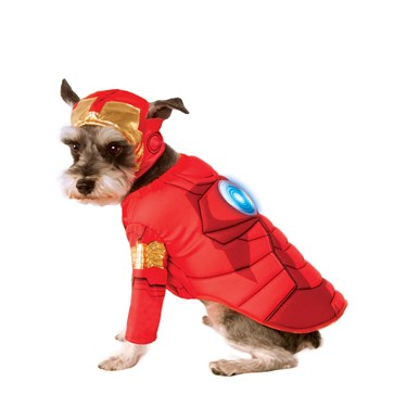 Iron Man Deluxe Pet Costume