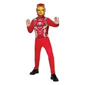 Iron Man Jumpsuit & Mask Child Costume Blister Set One Size