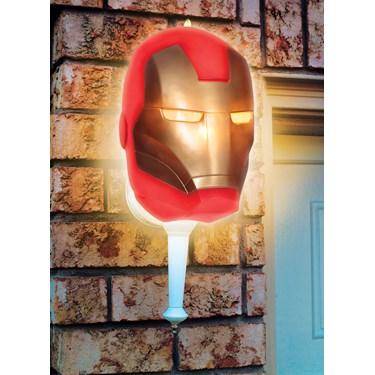 Iron Man Porch Light Cover