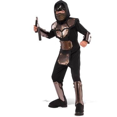 Iron Phantom Ninja Child Costume