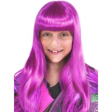 Isle Princess Long Purple Neon Wig