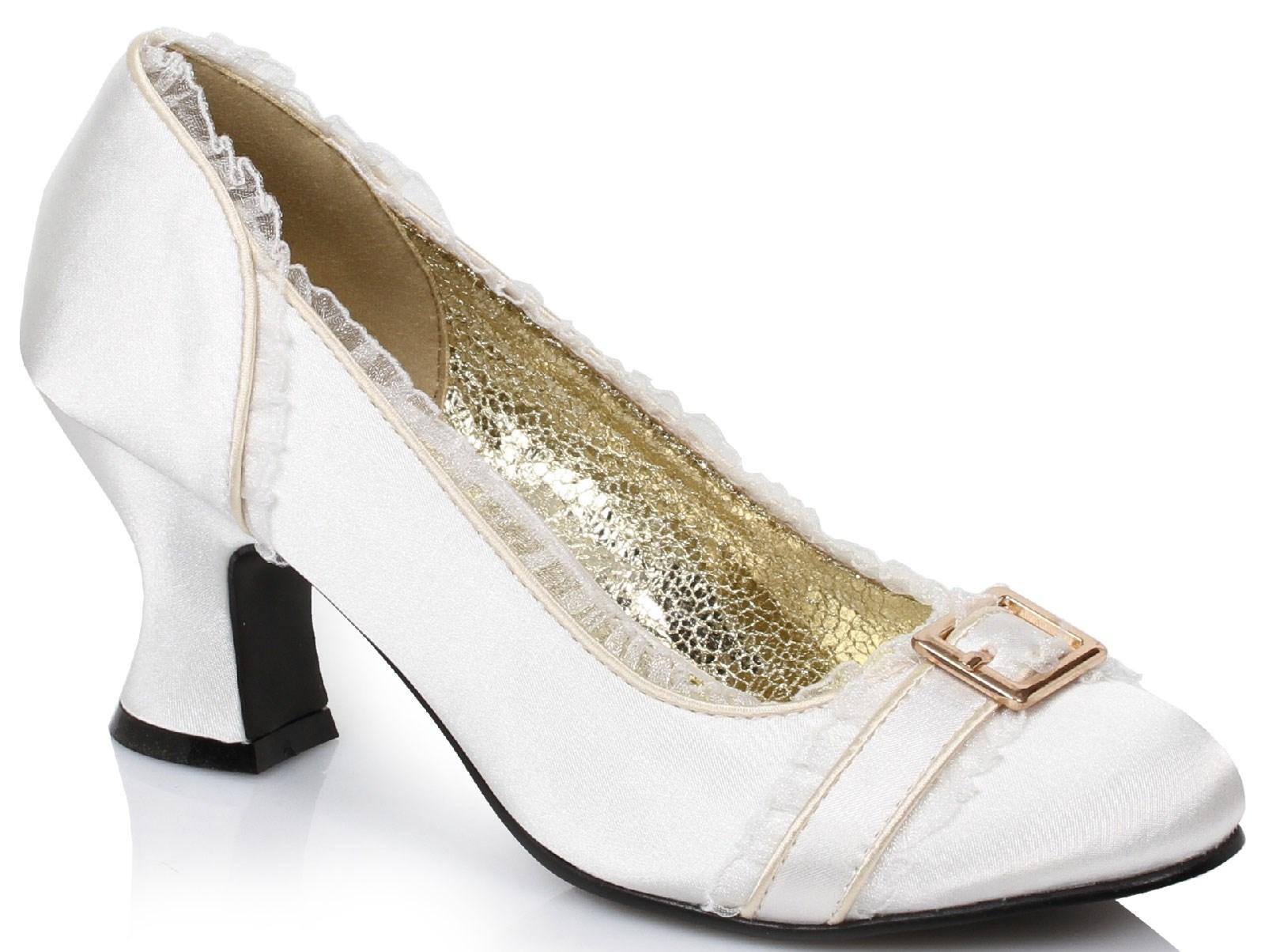Ivory Princess Heels For Women