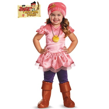 Jake and the Neverland Pirates - Izzy Deluxe Child Costume