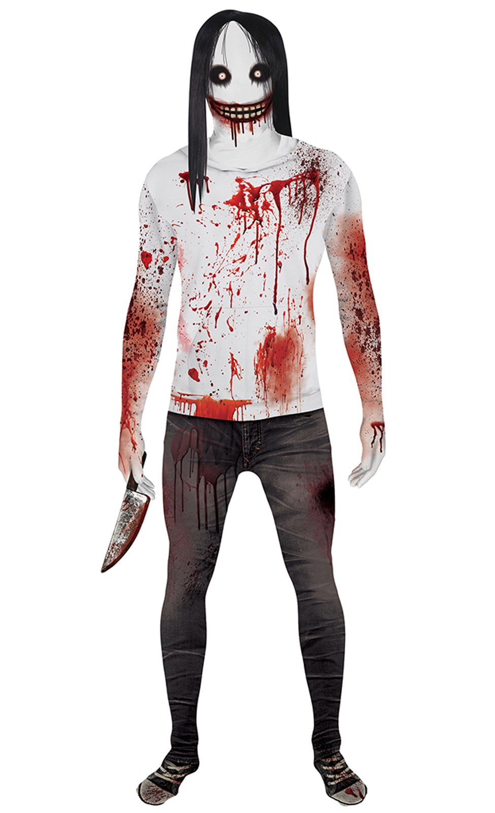 jeff the killer adult morphsuit costume - Morphsuits Halloween Costumes