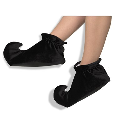 Jester Adult Shoes (Black)