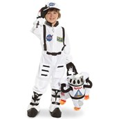 Jr. Astronaut White Suit Child Costume