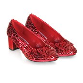 Judy (Red Sequin) Child Shoes