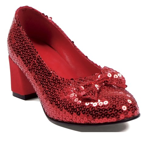 Judy Sequin (Red) Adult Shoes