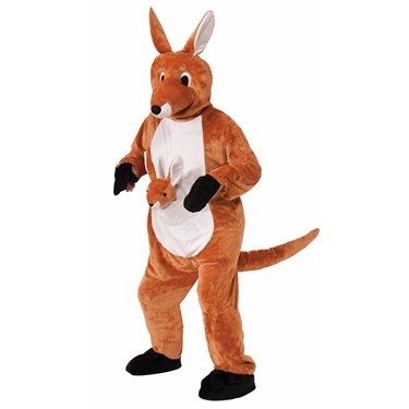 Jumpin' Jenny Kangaroo Mascot Costume