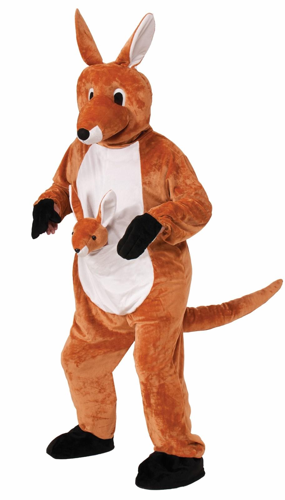 Jumpin Jenny Kangaroo Mascot Costume Buycostumes Com
