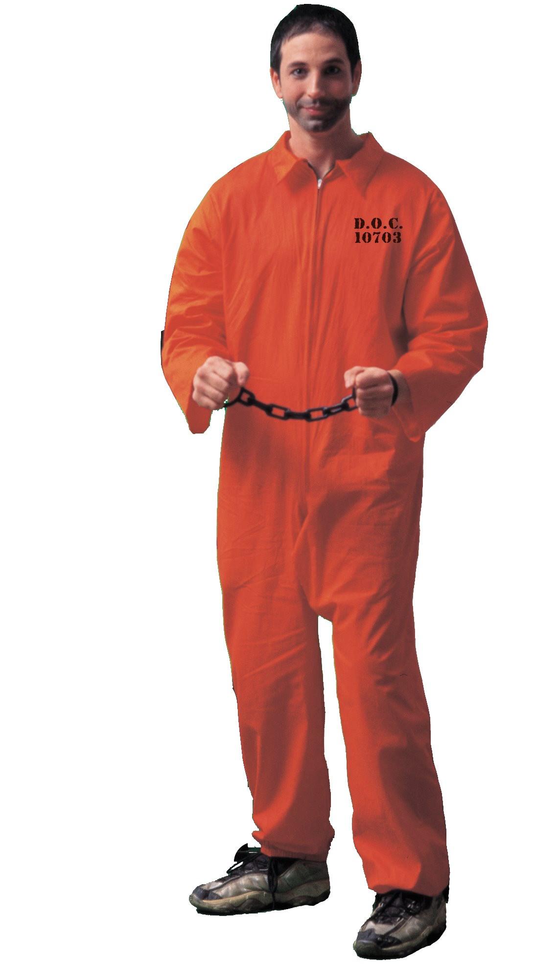Jumpsuit (Orange) Adult Costume | BuyCostumes.com