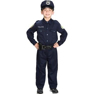 Junior Police Suit Child Costume
