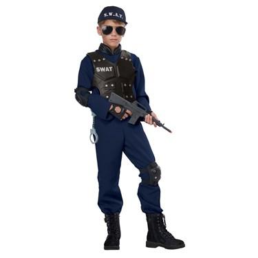 Junior Swat Child's Costume