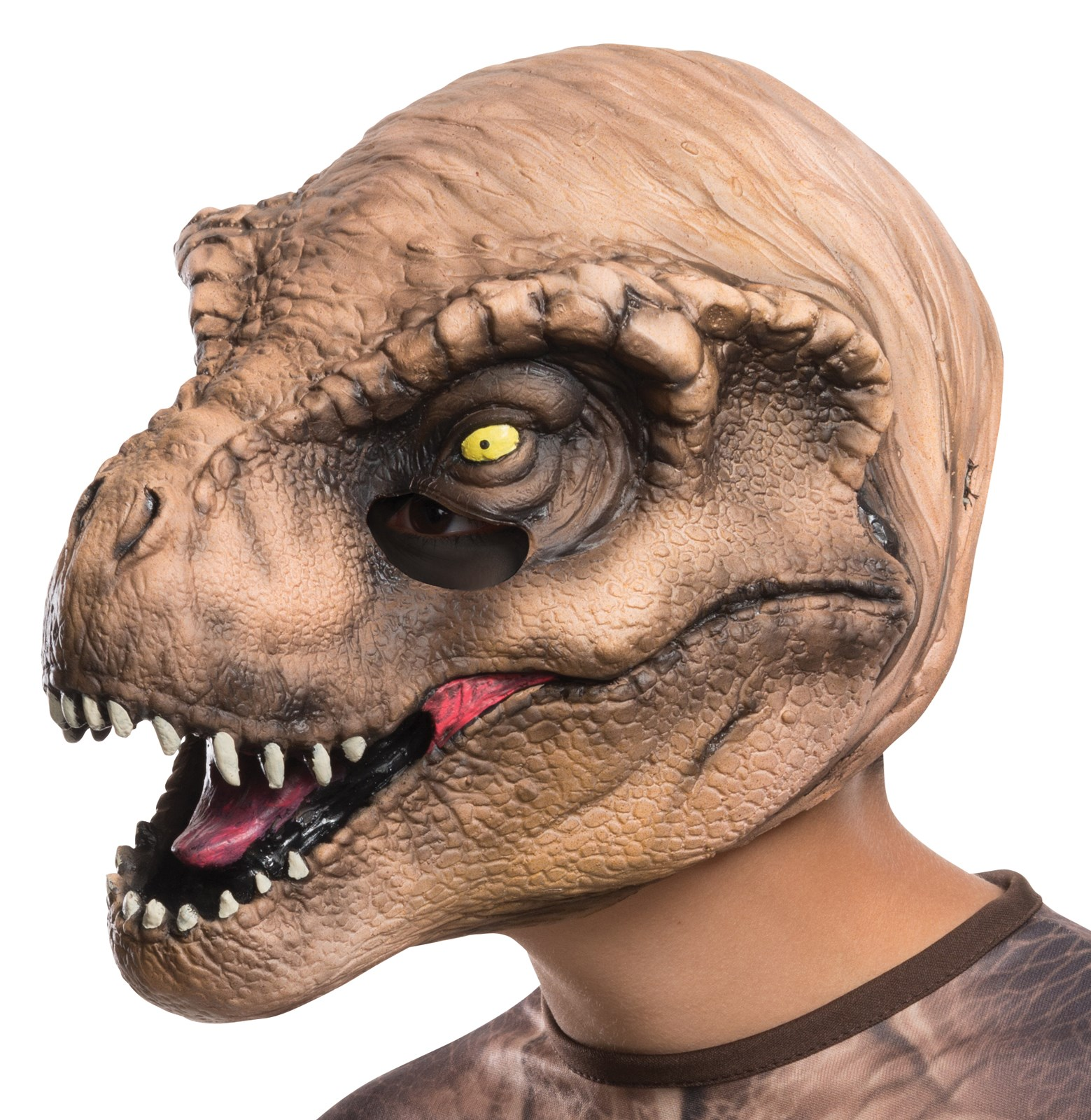 Jurassic World: Kids T-Rex 3/4 Mask | BuyCostumes.com