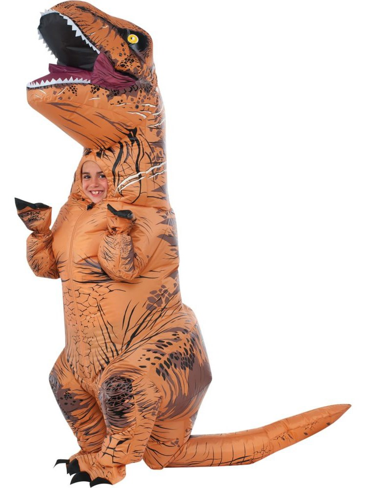 Jurassic World: Kids T-Rex Inflatable Costume
