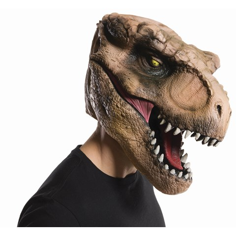 Jurassic World: Overhead T-Rex Adult Mask