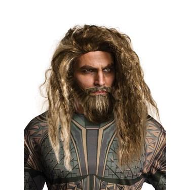 Justice League: Aqua Man Adult Beard and Wig