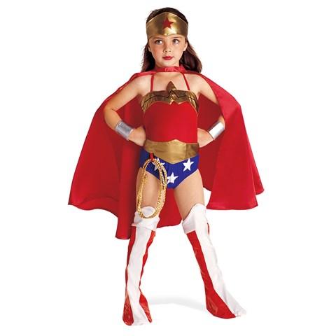 Justice League DC Comics Wonder Woman  Child Costume