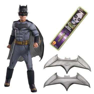 Justice League Movie - Batman Deluxe Children's Costume Kit
