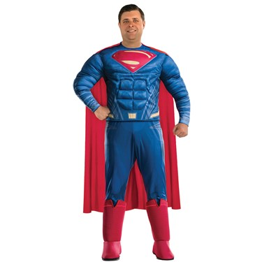 Justice League Movie - Superman Adult Plus Costume