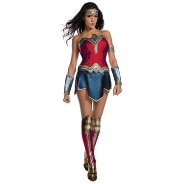 Justice League Womens Secret Wishes Wonder Woman Costume