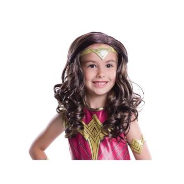 Justice League: Wonder Woman child wig