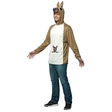 Kangaroo Adult Pullover Costume