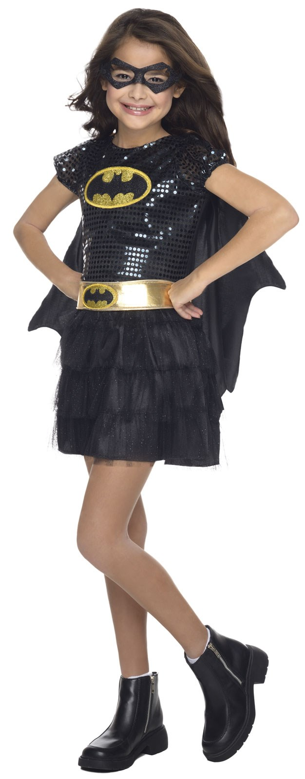 Kids Batgirl Sequin Costume