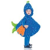 Kids Big Mouth Blue Fish Costume