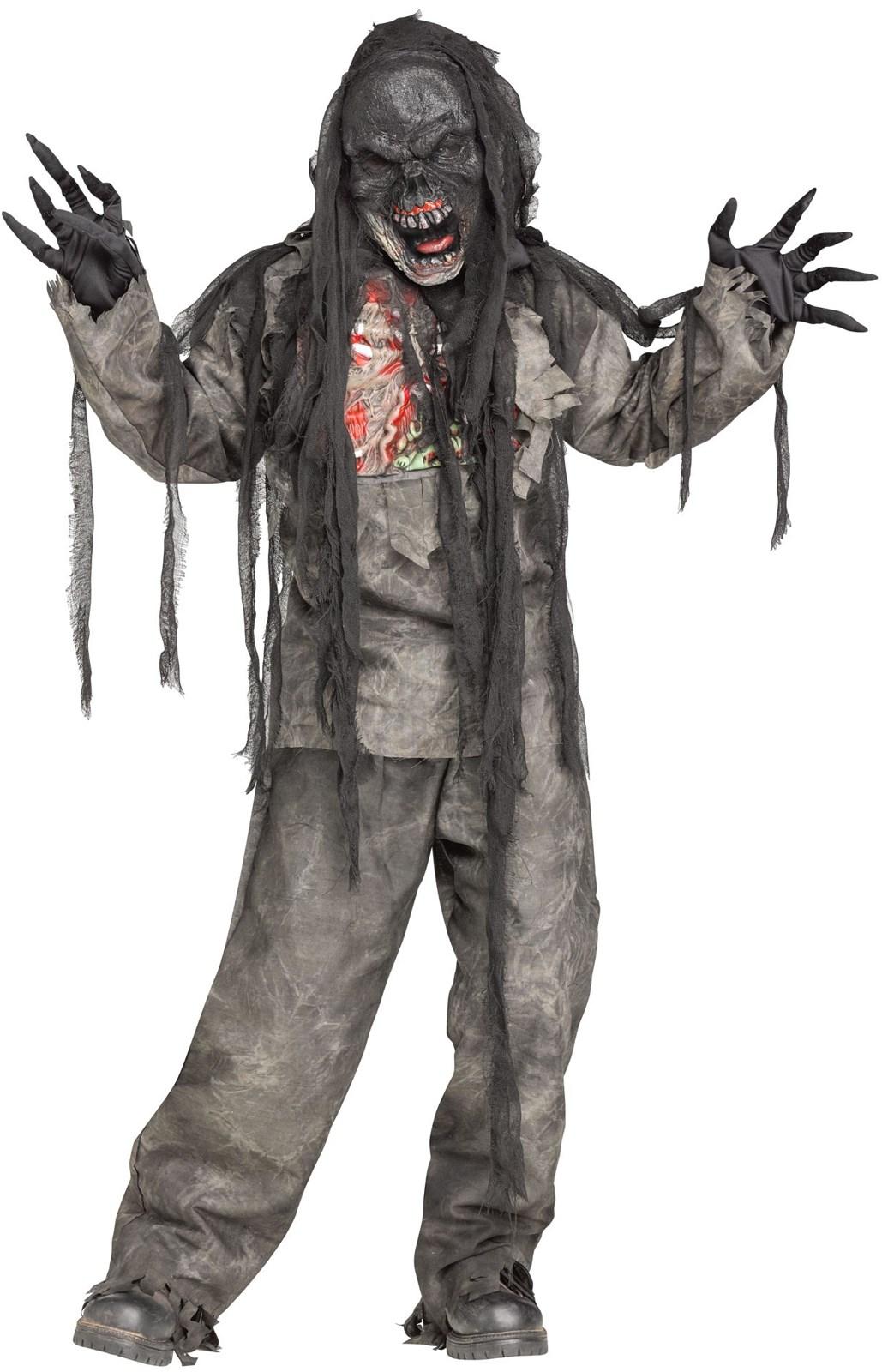 Kids Burnt Zombie Costume