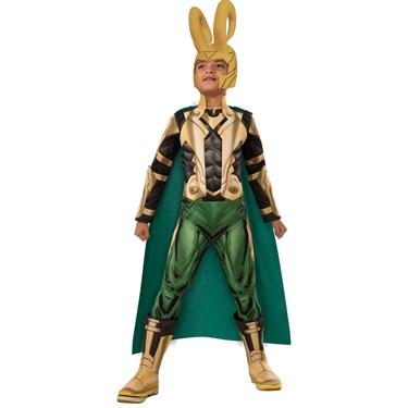 Kids Deluxe Loki Costume
