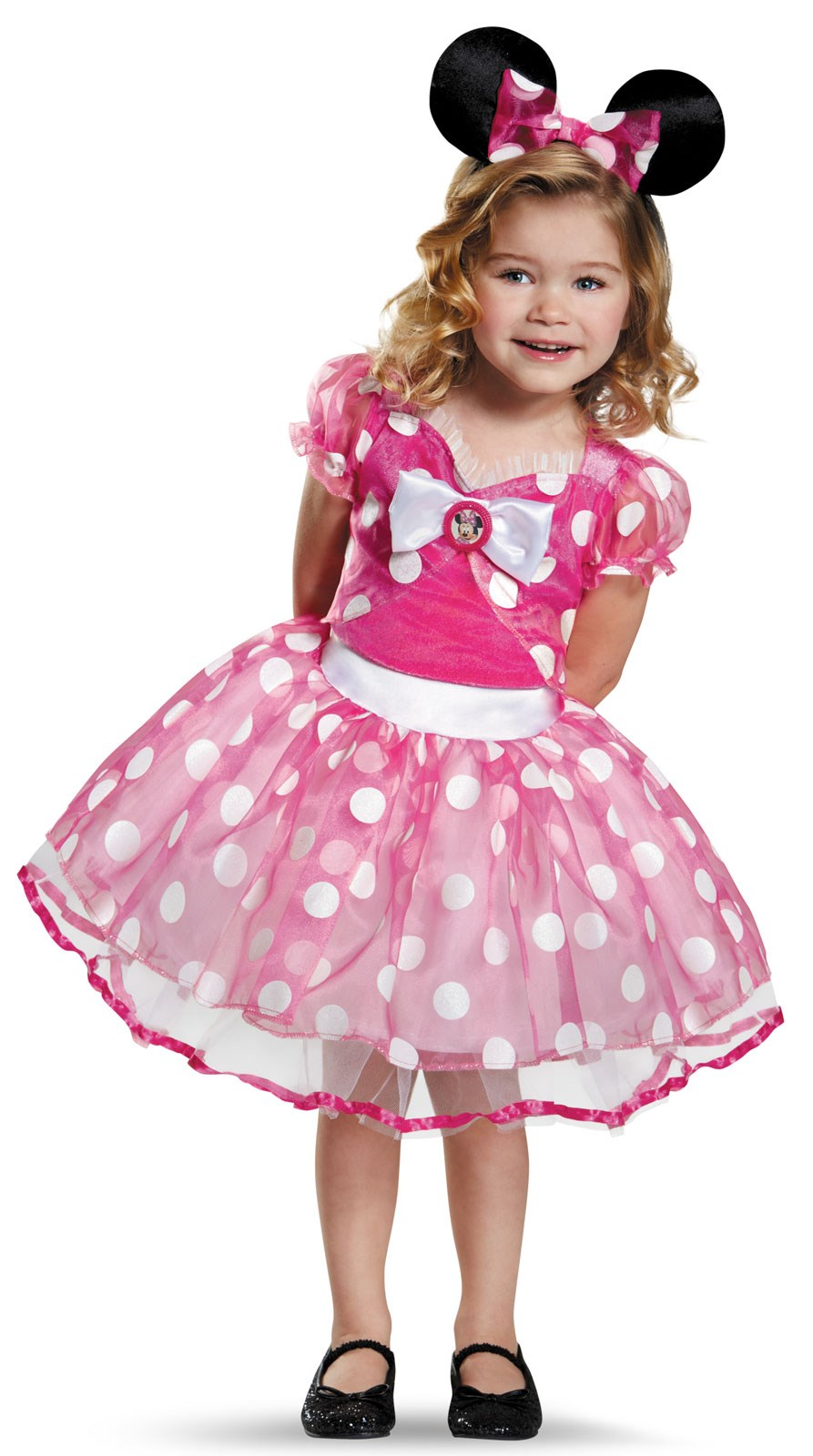 Kids Deluxe Pink Minnie Mouse Tutu Costume