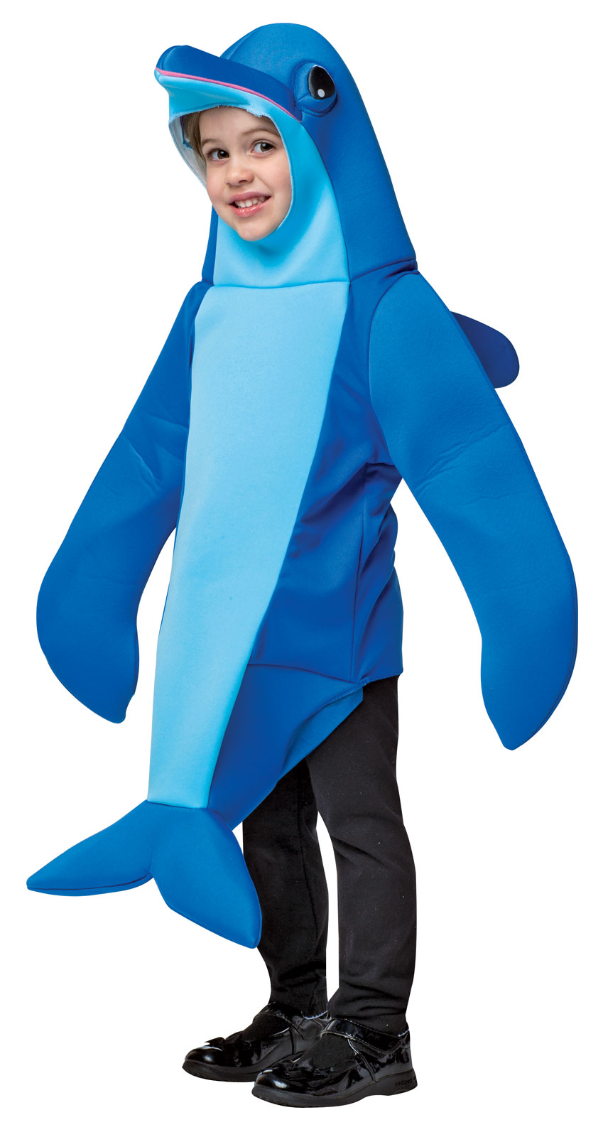 Kids dolphin costume one size ebay for Kids fish costume