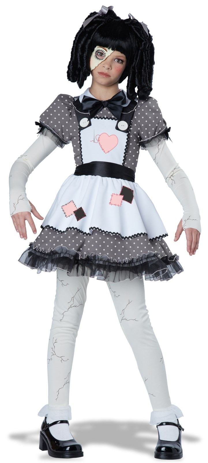 Kids Haunted Doll Costume | BuyCostumes.com