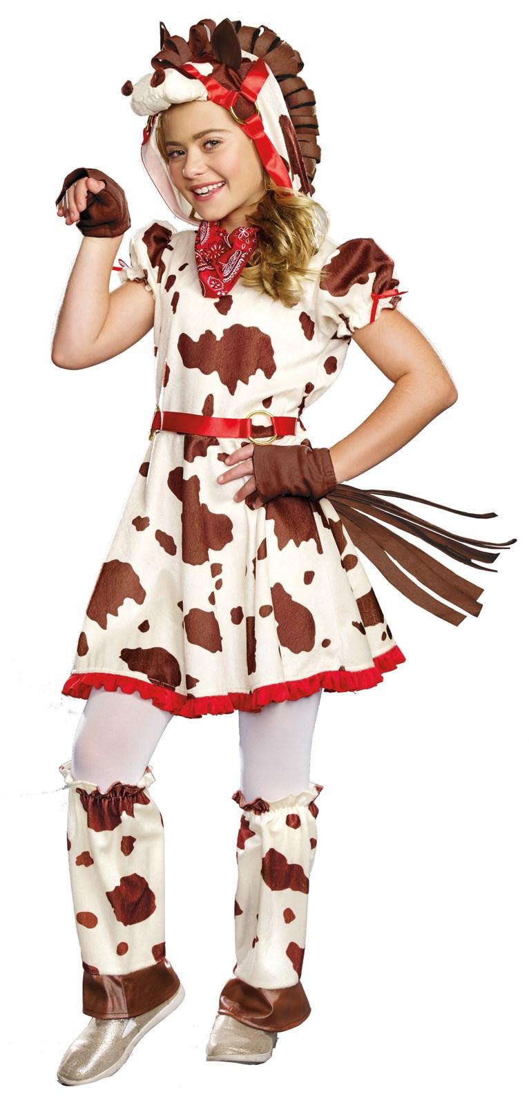 Kids Lucy Appaloosa Pony Costume