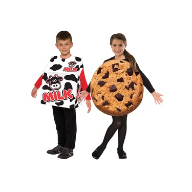 Kids Milk and Cookies Costume Set