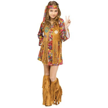 Kids Peace and Love Hippie Costume