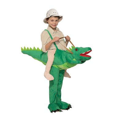 Kids Ride-A-Alligator Costume