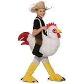 Kids Ride-A-Chicken Costume