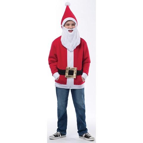 Kids Santa Hoodie