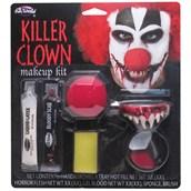 Killer Clown Character Makeup Kit