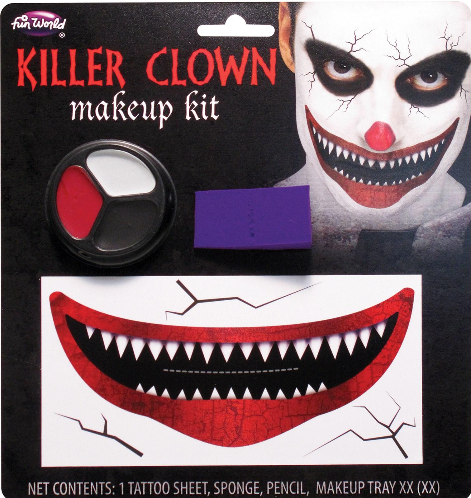 Killer Klown Makeup Kit
