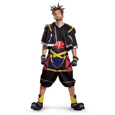 Kingdom Hearts Sora Deluxe Teen Costume