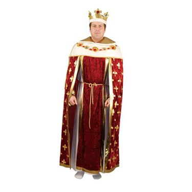 Kings Robe Wine Adult Costume